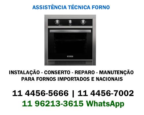 Assistência técnica forno